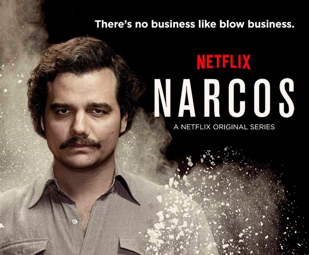 Narcos rivaliza en fans y descargas con Juego de Tronos.
