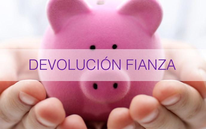 DEVOLUCIon-fianza