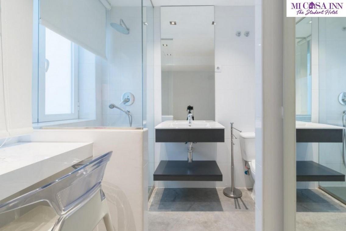Habitación con baño para estudiantes en Plaza España Madrid