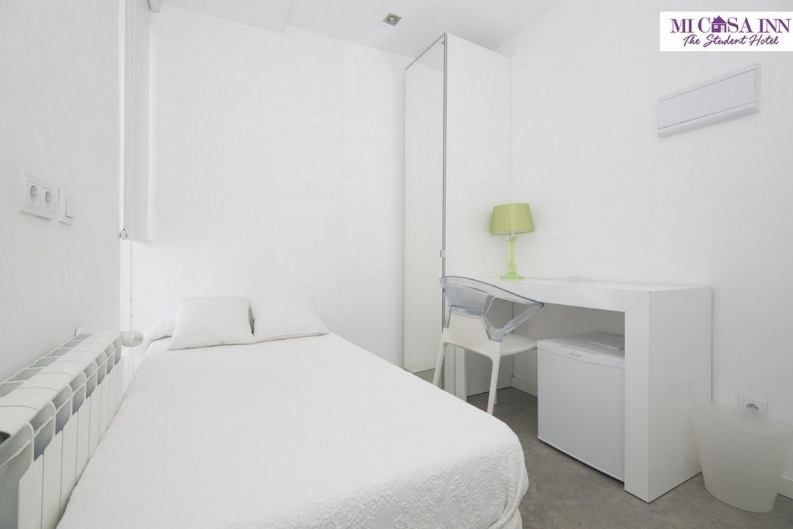 Habitación en residencia para estudiantes en Plaza España Madrid