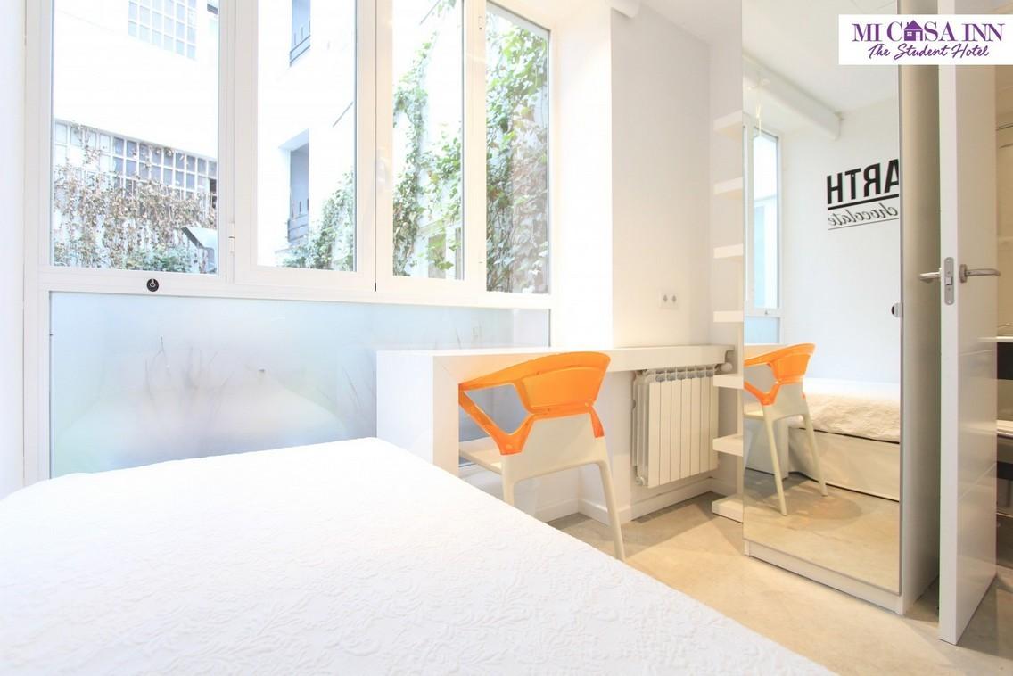 Habitación individual estudiantes Plaza España Madrid