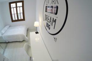 Habitación deluxe para estudiantes Gran Vía