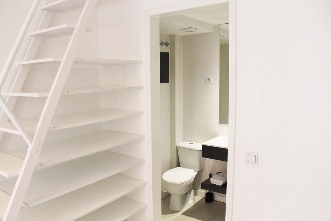 Residencia universitaria con baño particular en Gran Vía