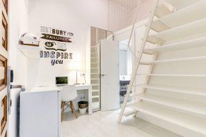 Habitación para universitarios doble confort en Gran Vía