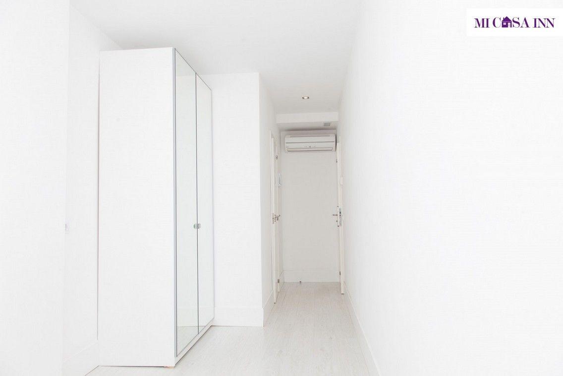 Habitación para universitarios en residencia en el barrio Salamanca de Madrid
