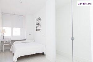 Habitación doble en residencia de estudiantes en el barrio Saalamanca
