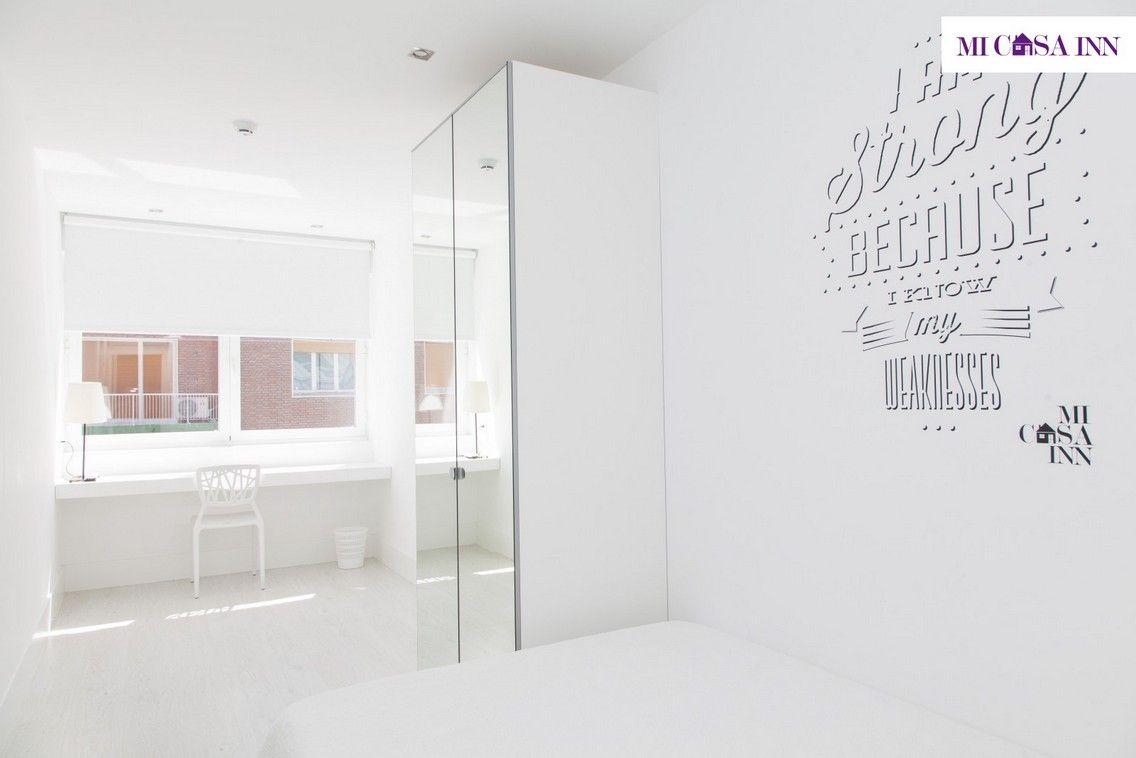 Habitación Deluxe para estudiantes en el barrio Salamanca