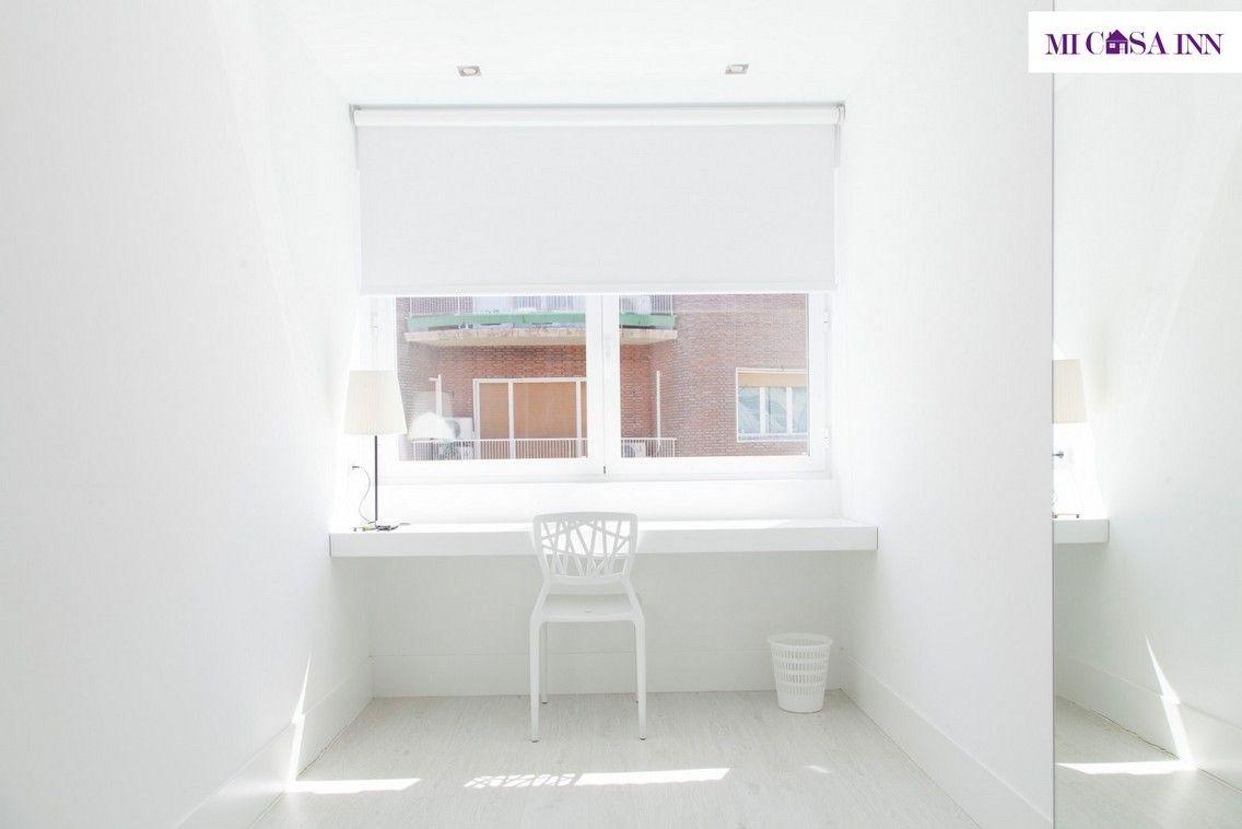 Residencia de universitarios en barrio Salamanca con habitación doble