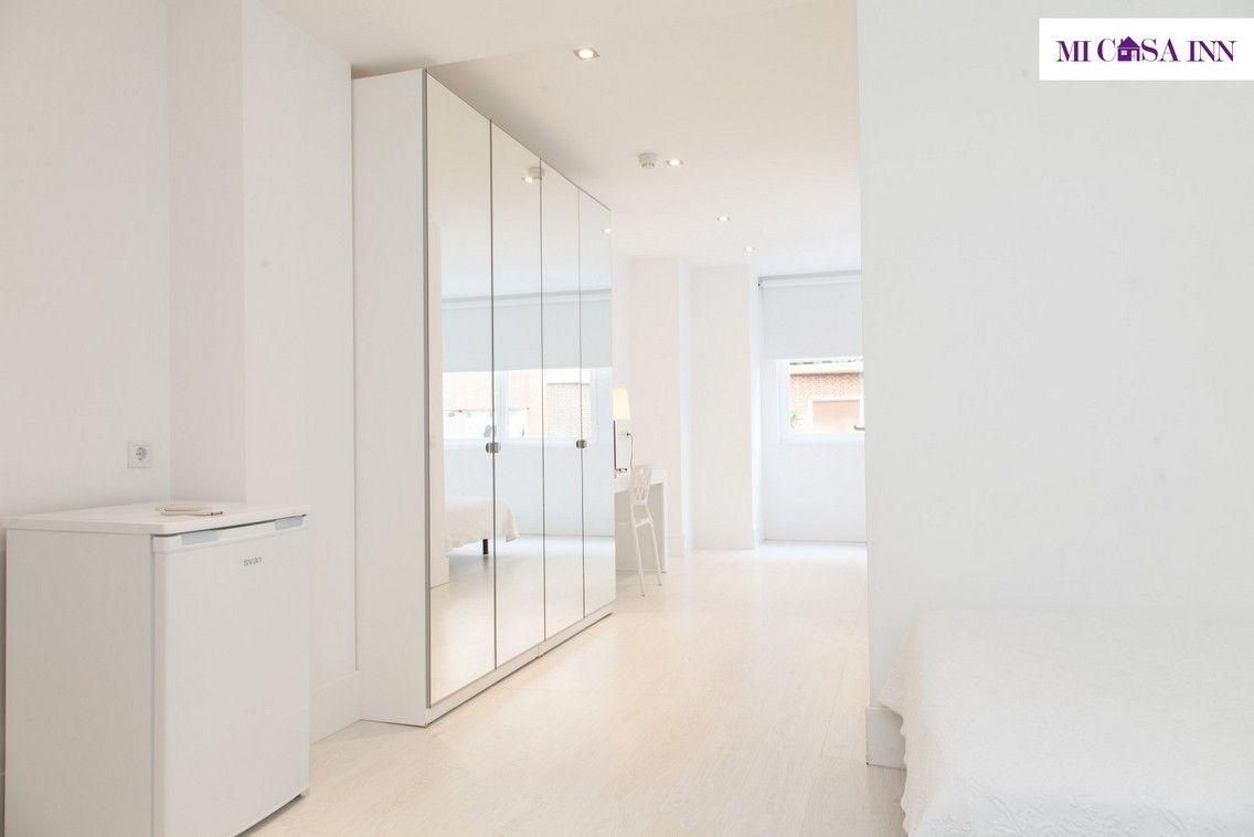 Habitación doble para estudiantes en Madrid