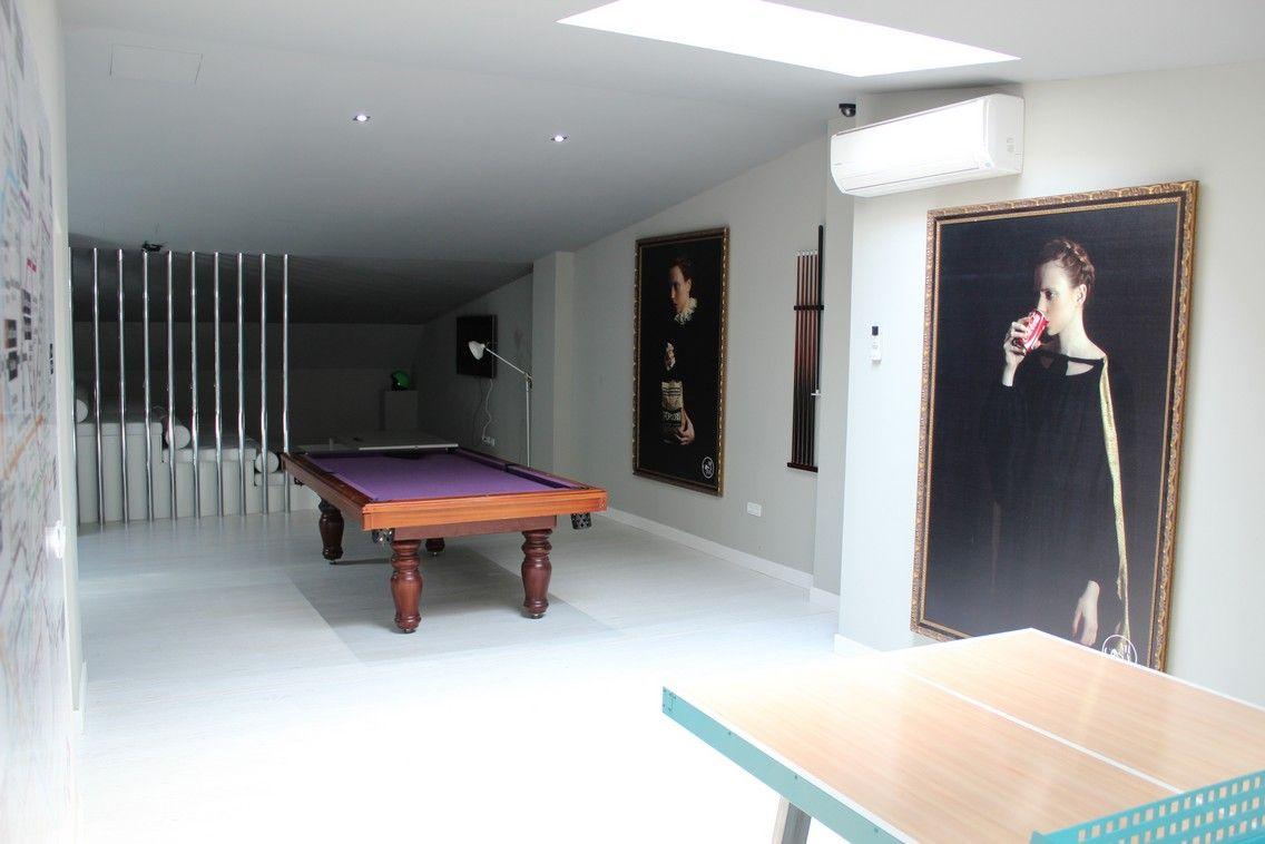 Salón residencia de estudiantes Barrio Salamanca