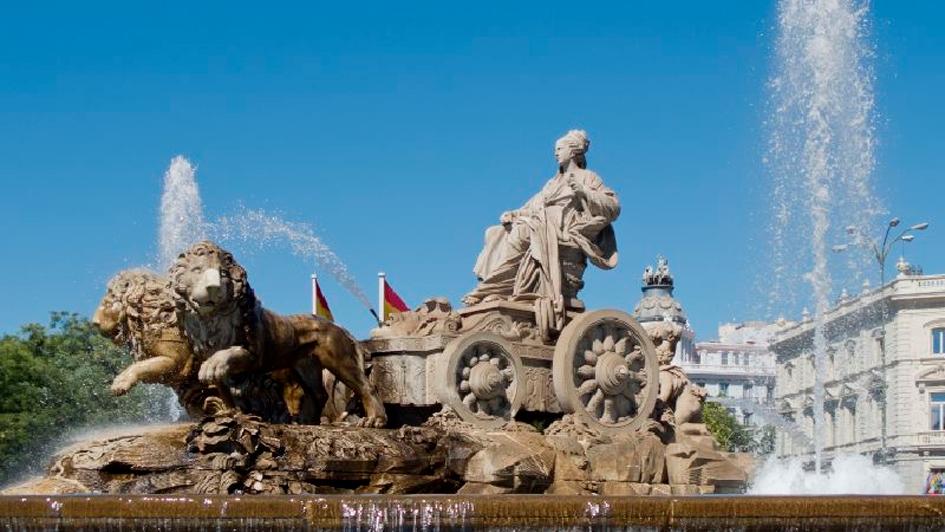 Las mejores cinco fuentes de Madrid dónde lanzar monedas